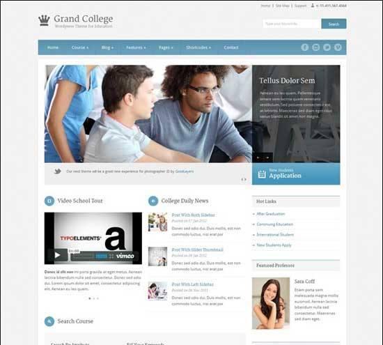 Educational Wordpress Themes