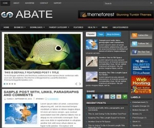 Abate-Blogger-Template