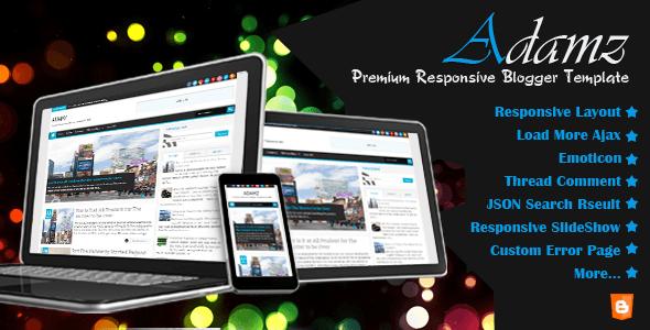AdamzPreview-responsive-blogger-template