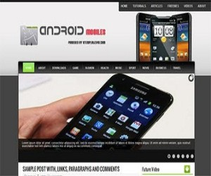 Android-Mobiles-blogger-templates