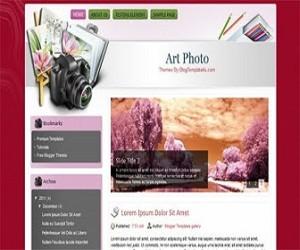 Art-Photo-blogger-templates