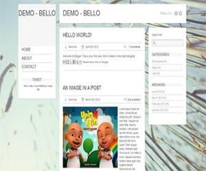 Bello-blogger-templates