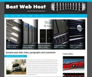 Best-Web-Host-Blogger-Template