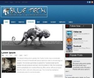 Blue-Tech-Blogger-Template