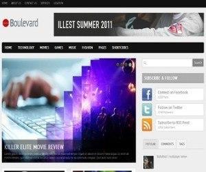 Boulevard-blogger-template