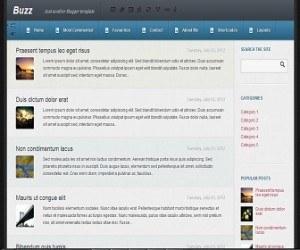 Buzz-blogger-template