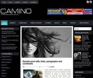 Camino-Blogger-Template