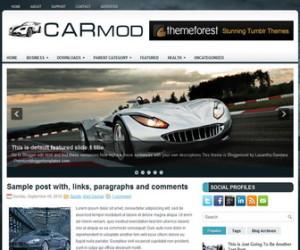 CarMod-Blogger-Template