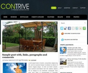 Contrive-Blogger-Template