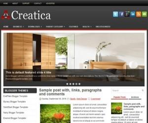 Creatica-Blogger-Template
