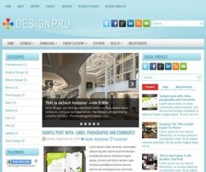 DesignPro-Blogger-Template