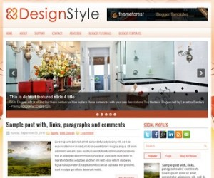DesignStyle-Blogger-Template