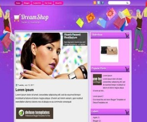 DreamShop-Blogger-Template