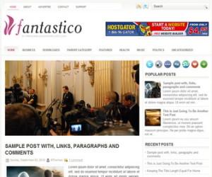 Fantastico-Blogger-Template