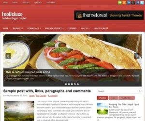 FooDeluxe-Blogger-Template