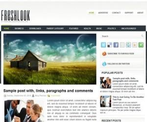 FreshLook-Blogger-Template