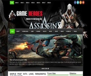 Game-Heroes-blogger-templates
