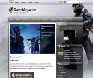 GameMagazine-Blogger-Template