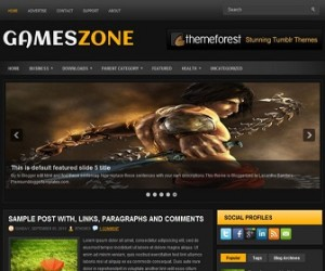 GamesZone-Blogger-Template