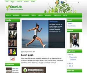 GreenLife-Blogger-Template