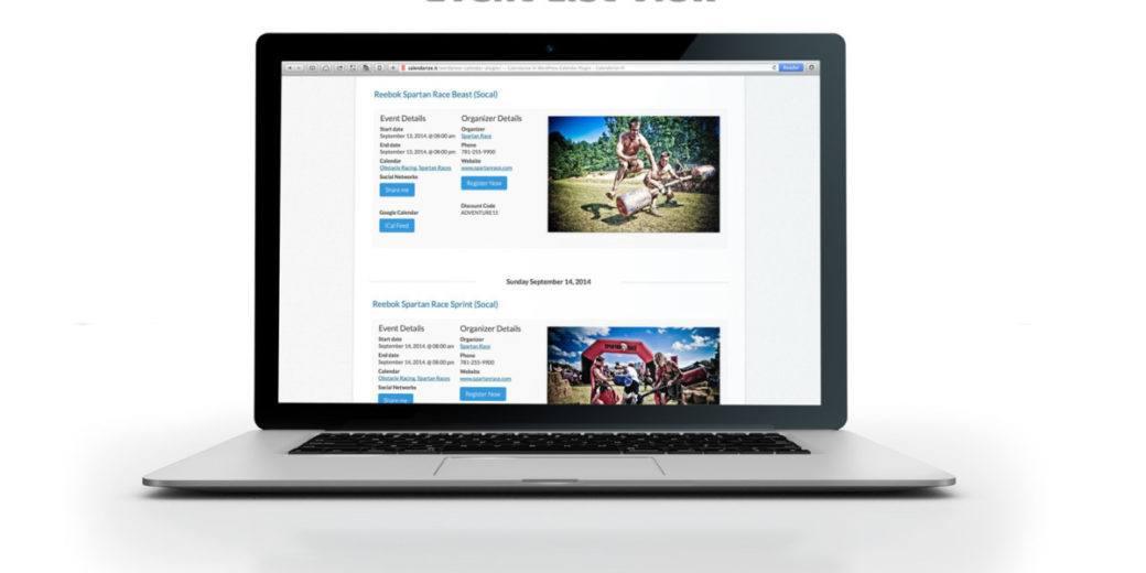 Calendarize it! Wordpress booking plugin