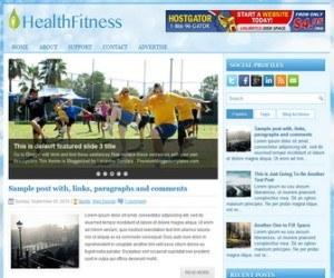 HealthFitness-Blogger-Template