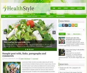 HealthStyle-Blogger-Template