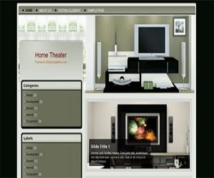 Home-Theater-blogger-templates