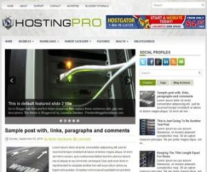 HostingPro-Blogger-Template