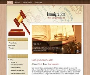 Immigration-blogger-templates