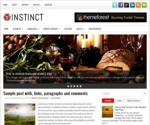 Instinct-Blogger-Template