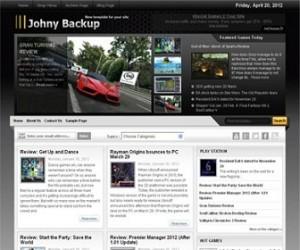 Johny-Backup-Blogger-Template