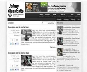 Johny-Classicsite-blogger-templates