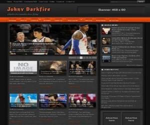 Johny-Darkfire-blogger-templates