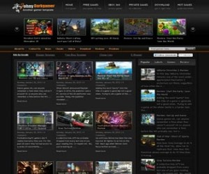 Johny-Darkgamer-blogger-templates