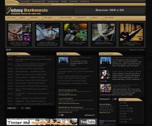Johny-Darkmusic-blogger-templates