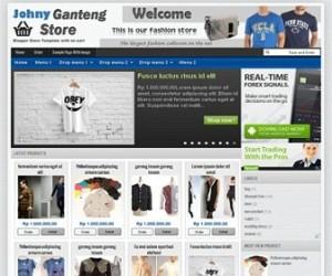 Johny-Ganteng-Store-blogger-templates
