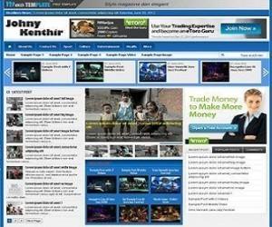 Johny-Kenthir-blogger-template