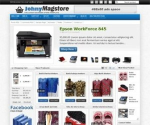Johny-Magstore-Blogger-Template