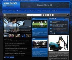 Johny-Storage-Dark-Blogger-Template