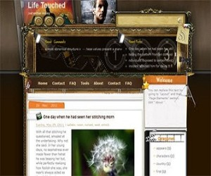 Life-Touched-blogger-templates