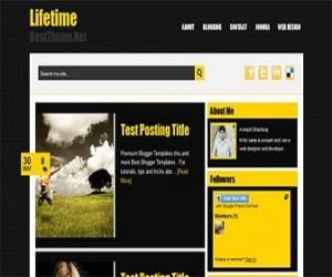 Lifetime-blogger-templates