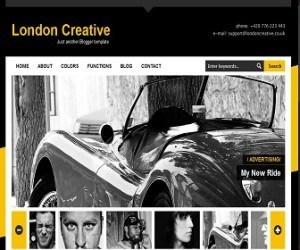 London-Creative-blogger-template
