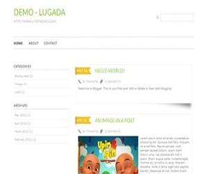 Lugada-blogger-templates