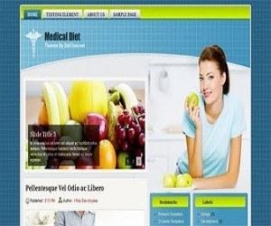 Medical-Diet-blogger-templates