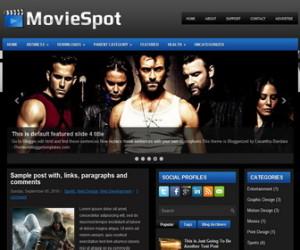 MovieSpot-Blogger-Template