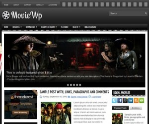 MovieWp-Blogger-Template