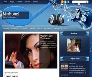 MusicLoud-Blogger-Template