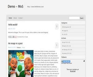 MxS-blogger-templates