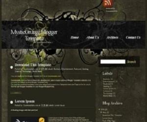 MysticGrunge-Blogger-Template